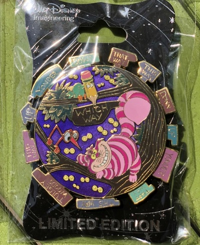 Cheshire Cat WDI Pin
