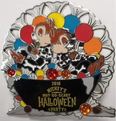 Chip and Dale MNSSHP 2018 Pin