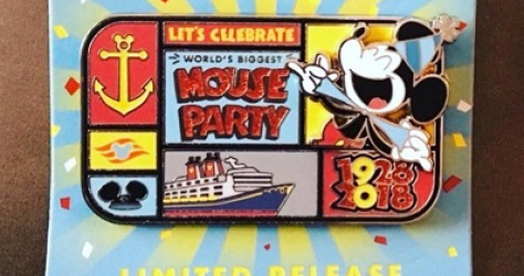 DCL Mouse Party Pin