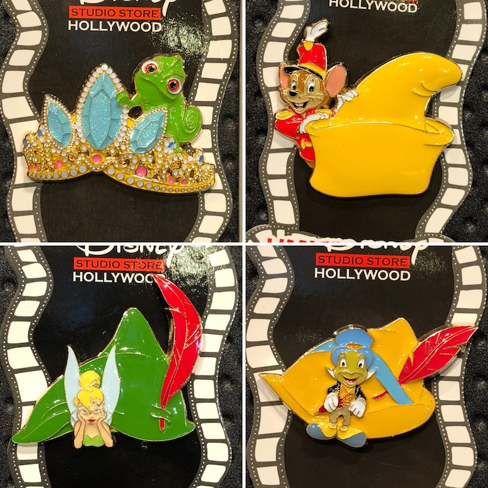 Disney Character Hat Pins - DSSH