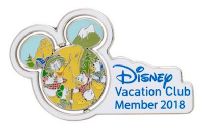 Disney Vacation Club 2018 Donald Duck Pin