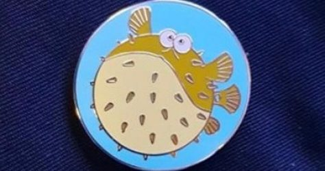 Disneyland Paris Finding Nemo Refresher Pin