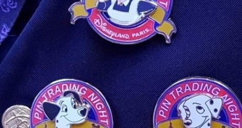 Disneyland Paris Pin Trading Nights 101 Dalmatians Pins
