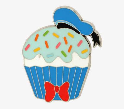 Donuld Duck Cupcake BoxLunch Pin