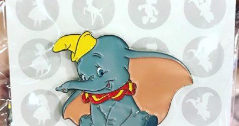 Dumbo Wave 2 Pin - Hong Kong