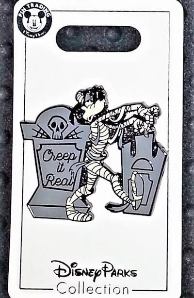 Goofy Creep it Real Halloween 2018 Pin