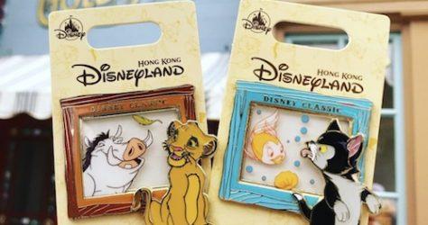 Hong Kong Disney Classic Pin Series 4