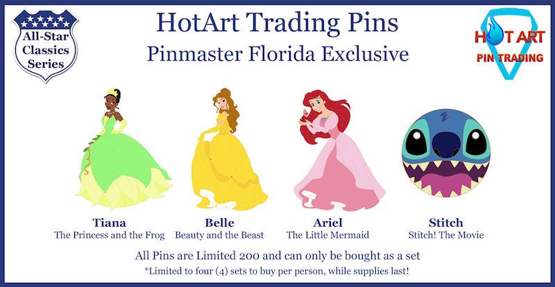 HotArt Trading Pins All-Star Classics Series - August 4, 2018