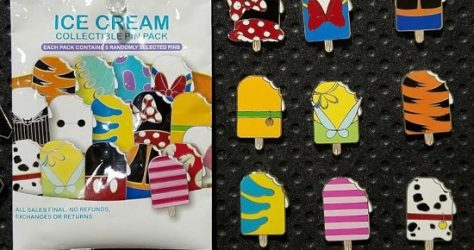 Ice Cream Collectable Pin Pack