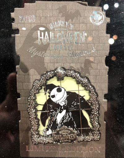Jack Skellington Mysterious Shadows Halloween Party 2018 Pin