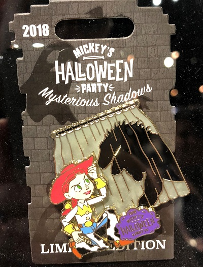 Jesse Mysterious Shadows Halloween Party 2018 Pin