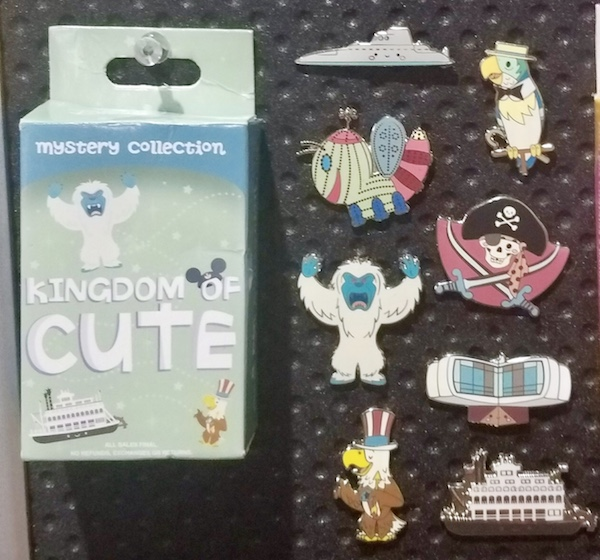 Kingdom of Cute Mystery Pin Collection Series 2