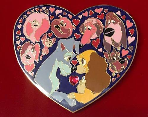 Lady and the Tramp Acme Pin