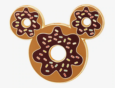 Mickey Mouse Ears Donut BoxLunch Pin