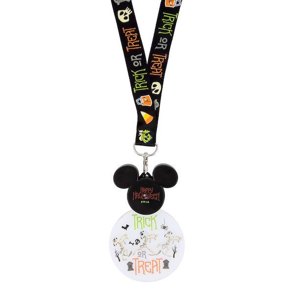 Mickey Mouse Halloween 2018 Glow Lanyard