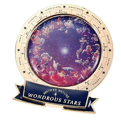 Mickey Mouse Wonderous Stars Pin