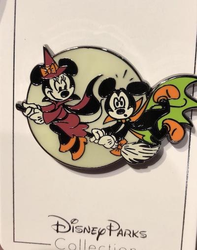 Mickey and Minnie Halloween 2018 Pin