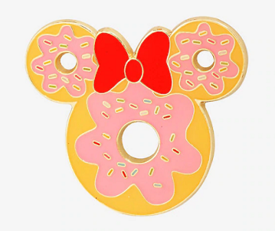 Minnie Mouse Ears Donut BoxLunch Pin