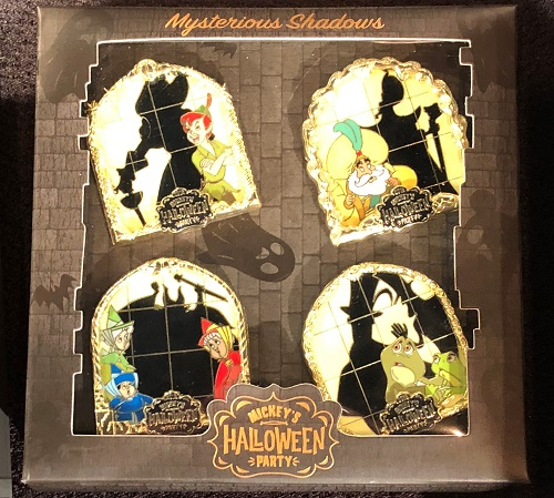 Mysterious Shadows Halloween Party 2018 Pin Set