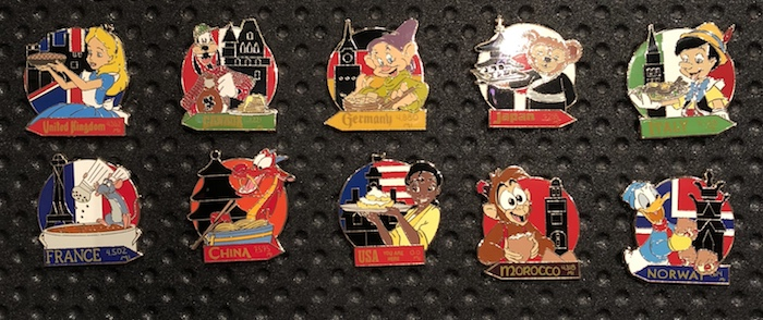 Mystery Pins - Epcot Food and Wine 2018