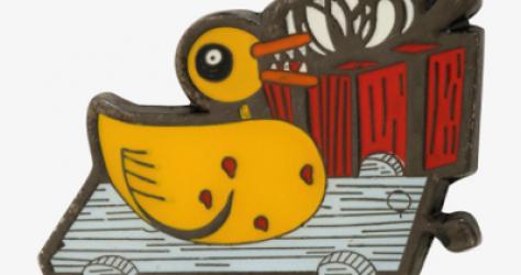 NBC Scary Duckling Disney Pin