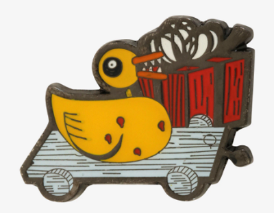 NBC Scary Duckling Disney Pin