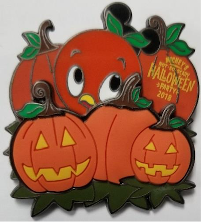 Orange Bird MNSSHP 2018 Pin