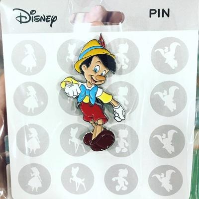 Pinocchio Wave 2 Pin - Hong Kong