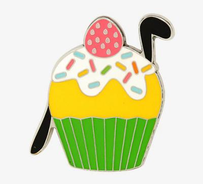 Pluto Cupcake BoxLunch Pin