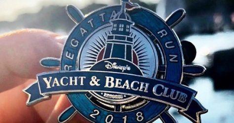 Regatta Run Disney's Yacht & Beach Club Pin