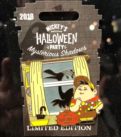 Russell Mysterious Shadows Halloween Party 2018 Pin