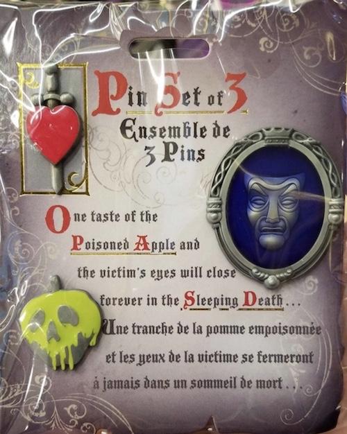 Snow White Pin Set at Disney Store