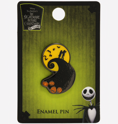Spiral Hill Nightmare Before Christmas BoxLunch Pin