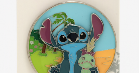 Stitch & Scrump BoxLunch Disney Pin