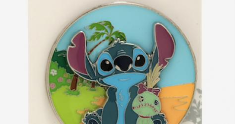 Stitch & Scrump BoxLunch Disney Pin