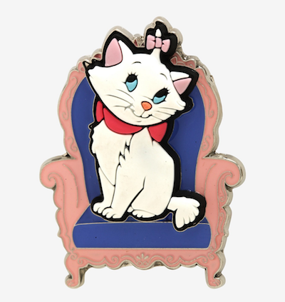 The Aristocats Marie Rubber And Enamel Pin