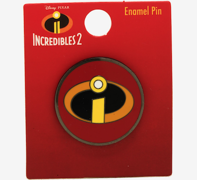 The Incredibles Logo BoxLunch Pin