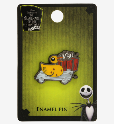 The Nightmare Before Christmas Scary Duckling BoxLunch Pin