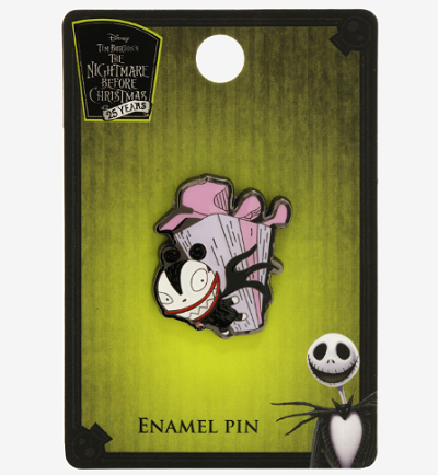 The Nightmare Before Christmas Scary Teddy BoxLunch Pin