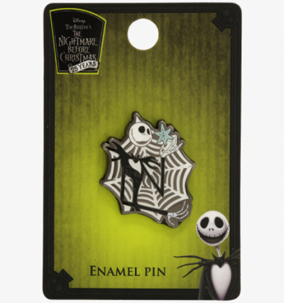 The Nightmare Before Christmas Snowflake BoxLunch Pin