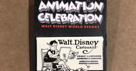 Walt Disney's Animation Celebration 2018 Welcome Pin