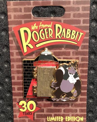Walt Sent Me - Who Framed Roger Rabbit 30 Years Pin