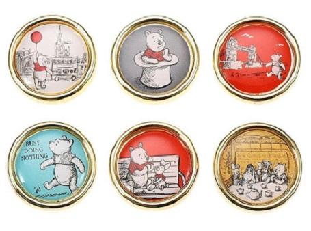 Winnie the Pooh Disney Store Japan Set