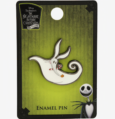 Zero Candy Cane Nightmare Before Christmas BoxLunch Pin