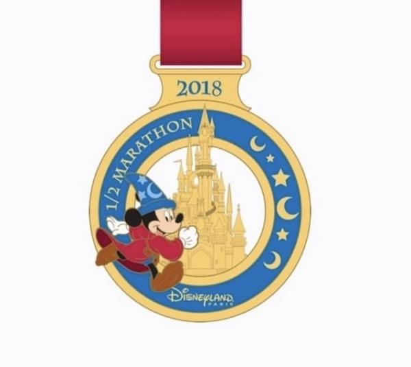 1:2 Marathon 2018 Disneyland Paris Pin