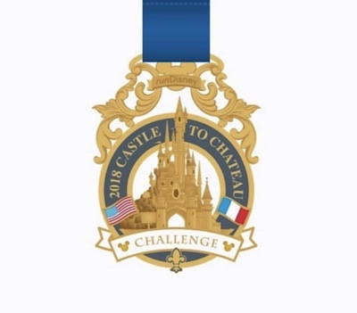 2018 Castle to Chateau Challenge Pin