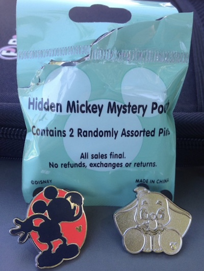 2018 Hidden Mickey Wave A Pin Pouch 1