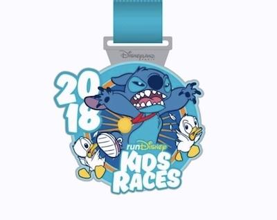 2018 Kids Races Disneyland Paris Pin