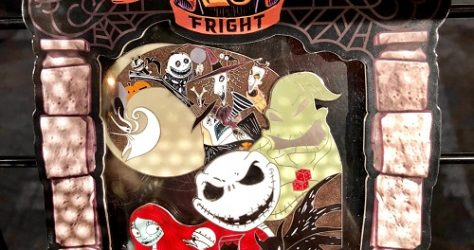25 Years of Fright Jumbo Pin