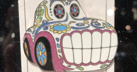 Cars Sugar Skull DCA AP Pin